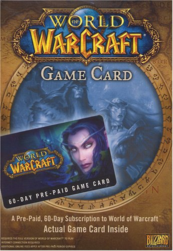 Activision World of Warcraft: 60-Day Pre-Paid Game Card - Smart Card