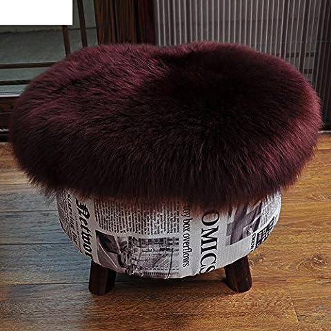 cuscino per sedia pura lana/Spessore caldo da
