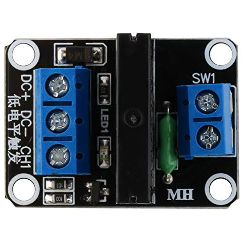 JICHUIO 1-Kanal-5V OMRON SSR G3MB-202P Solid State Relais-Modul W/Resistive Fuse Fuse-modul