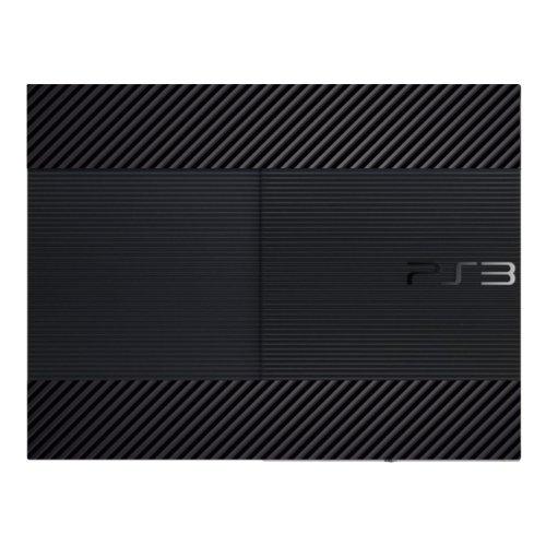 "Motif Disagu Design Skin pour Sony PS3 Ultra Slim + Controller: ""Carbon Look No.3"""