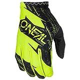 O'Neal Matrix Handschuhe Burnout Motocross MX DH Downhill Enduro Offroad Mountain Bike, 0388R-1, Farbe Gelb, Größe L