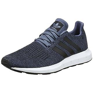 adidas Herren Swift Run Fitnessschuhe, Blau (Acenat/Negbás / Ftwbla 000), 43 1/3 EU