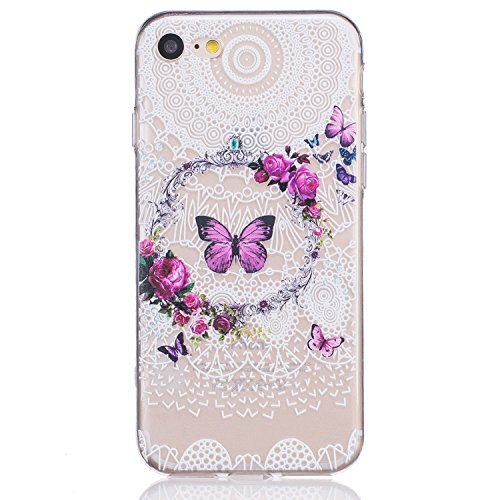 iPhone 7 Plus Crystal Clear TPU Case Hülle Silikon Gel Schutzhülle Rückschale Etui für iPhone 7 Plus 5.5 Zoll,iPhone 7 Plus Hülle Transparent,iPhone 7 Plus Hülle Silikon,EMAXELERS iPhone 7 Plus Hülle  TPU 16