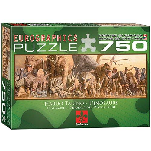 Eurographics - Rompecabezas Dinosaurios, 750 piezas (EG60054650)