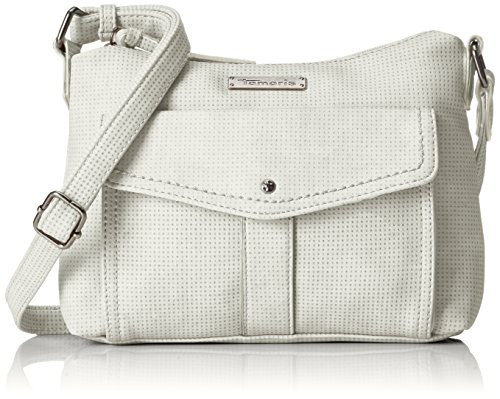 Tamaris - Adriana Crossbody Bag S, Borse a tracolla Donna Bianco (White)