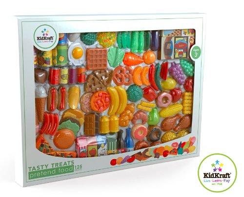 Imagen 2 de Kidkraft 63187 - Comida de juguete, 125 piezas