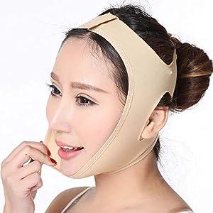 LQUIDE Atmungsaktiver Face-Lifting-Verband, Unisex-Schlafmaske/Face-Lifting-Instrument, XL