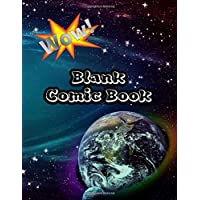 Blank Comic Book: For Kids Draw & Make Your Own For Boys Girls With Comic Paper Templates Create Your Own Super Hero or Fairy Tale | Beautiful Galaxy Print