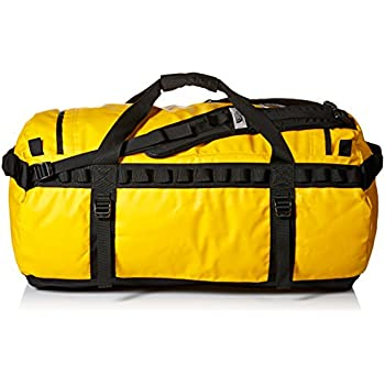 33ef4b890 The North Face Base Camp Duffel Bag - Summit Gold/TNF Black, Large ...