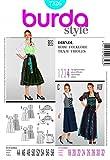 Burda Ladies Sewing Pattern 7326 - Dirndl Dress Sizes: 18-32 by Burda