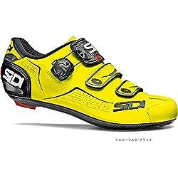SIDI - Zapatillas de Ciclismo de Material Sintético para Hombre Amarillo Amarillo Fluo Amarillo Size: 42