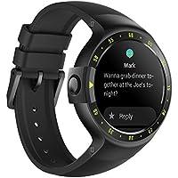 Ticwatch Reloj inteligente S Knight, pantalla OLED de 1,4 pulgadas, compatible con iOS y Android, Android Wear 2.0, Soporte Español