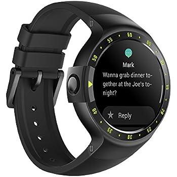 Ticwatch S Knight Smartwatch Bluetooth Montre Connectée avec écran OLED 1,4 Pouces, Android Wear 2.0, Sportswatch Compatible avec Android et iOS, ...