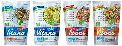 Vitanu Shirtaki Reis und Nudeln in 4 Formen, 1er Pack (1 x 800 g)