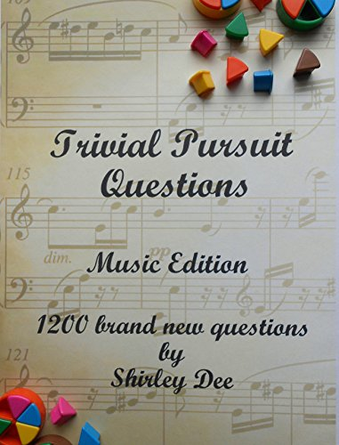 TRIVIAL PURSUIT QUESTIONS: MUSIC EDITION (English Edition) -