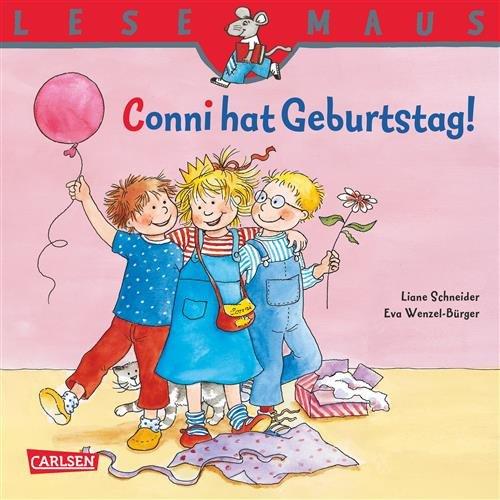 lesemaus-conni-hat-geburtstag-german-edition