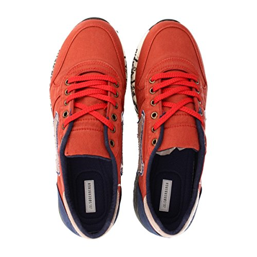 SØDERBERGH , Chaussures à lacets et coupe classique homme Rouge - Rouge