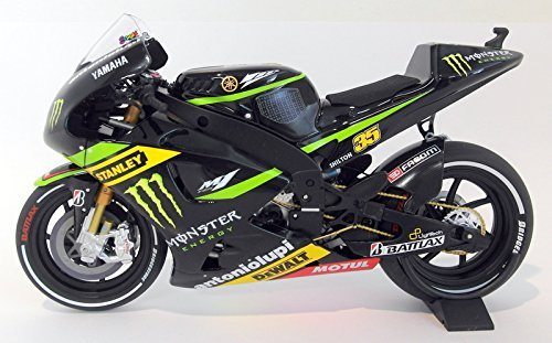 Minichamps Yamaha YZR-M1 Monster - Cal Crutchlow 2013 MotoGP - 1:12 Scale Diecast Model