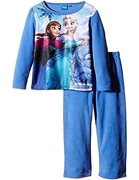 Girls Disney Frozen Winter Polar Fleece Pyjama / Pajama Set