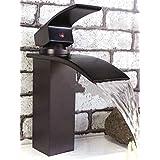 WYX@ Bois de rose antique en cuivre cascade robinet, WC, lavabo robinet
