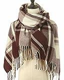 """Se cerchi un foulard per una coperta autunnale per la moda, non cercare oltre! Scialle coperta scozzese donna Sciarpa a quadretti scozzese a quadretti con ampia Pashmina per l'autunno e l'inverno !! Le sciarpe misurano 70 """"* 25"""". Rispetto ad ..."""