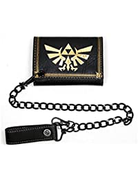 Portefeuille 'The Legend of Zelda' - Zelda leather trifold chain
