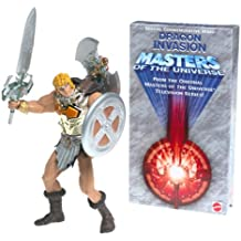 Masters of the Universe 2000er Edition Limitierter goldener Battle Sound He-Man inclusive VHS Film Dragon Invasion US-Import OVP