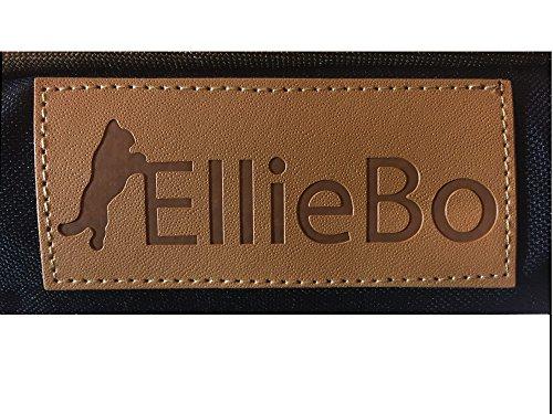 Ellie-Bo Black Waterproof Memory Foam Orthopaedic Dog Bed for Medium 30-inch Dog Cage/Crate 3