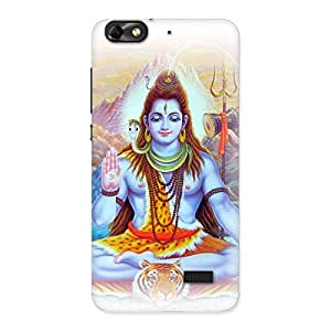 Gorgeous Blessings Of Shiva Back Case Cover for Honor 4C