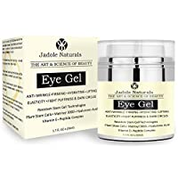 Jadole Naturals Eye Gel For Dark Circles Puffiness Wrinkles And Bags 1.7 oz, Pack of 1