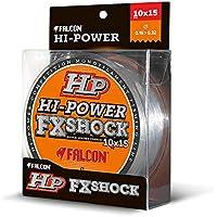 Falcon FX Shock - Hilo de Pesca, Transparente, 0,26 mm - 0,57 mm x 15 m