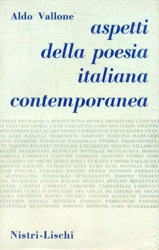 Aspetti della poesia italiana contemporanea