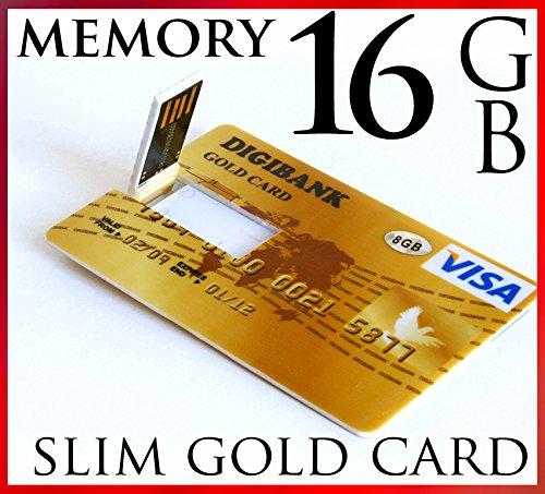 Ultrasottile 16gb usb 2,0, in stile carta di credito chiavetta ad alta velocità