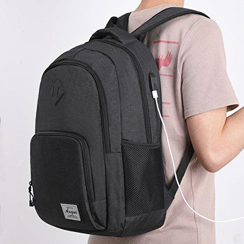 d96a2dc0c2b0f ... AUGUR Rucksack Herren Daypack Business Rucksack Schulrucksack Laptop  Rucksack Computer Rucksack mit 15.6 zoll Laptopfach