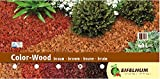 Eifelhum Dekormulch Color Wood braun 60 Liter Körnung 10-40