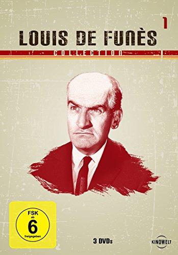 Bild von Louis de Funès Collection 1 (Die große Sause / Fünf Glückspilze / Quietsch... quietsch... wer bohrt denn da nach Öl) [3 DVDs]