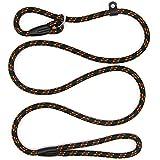 Zhichengbosi Justierbare Haustier-Leine, Nylontrainings-Leine für Hunde, dauerhafte weiche Hundeleine für Hunde (schwarz)