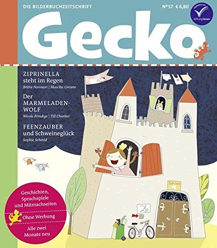Gecko Kinderzeitschrift Nr. 57: Die Bilderbuch-Zeitschrift