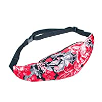 TUDUZ Bum Bag Fanny Pack - Festivals/Club Wear/Holiday Wear Laides Girls Water Resistant Rucksack Money Belt Women Waist…