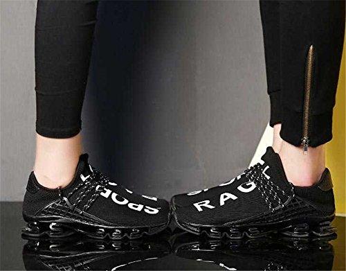 zhengjun  Fashion Sneakers,  Herren Jungen Knöchel-Riemchen Schwarz