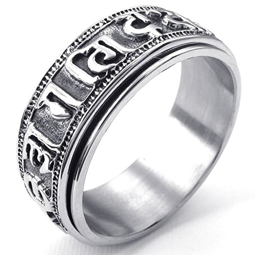 stainless-steel-rings-mens-bands-tibet-padme-hum-spinner-om-mani-black-silver-size-t-1-2-epinki