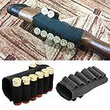 SHI-Y-M-ZDD, Militar de Nylon 8 Shell Soporte del Cartucho de Bala de munición del Rifle táctico del Portador Escopeta Calibre Culata Bolsas for la Caza al Aire Libre (Color : Negro)