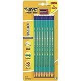 BiC Evolution HB Eraser Tip Pencil (Pack of 8)