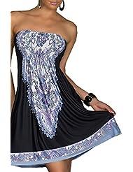 Suchergebnis auf Amazon.de für: bandeau kleid kurz: Bekleidung