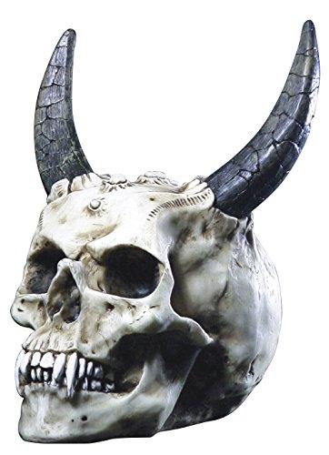 Markus Mayer - Teschio di demonio, con corna