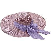 Damas   Chicas Sombrero de verano  Grande Sombrero de playa   Sombrero de sol  Para 4066d4aaff9
