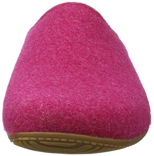 Living Kitzbühel Damen Pantoffel Filz Alpenmoos Pantoffeln Pink (Magenta)