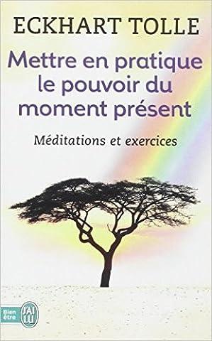 Mettre en pratique le pouvoir du moment présent : Enseignements essentiels, méditations et exercices pour jouir d'une vie libérée de Eckhart Tolle,Anne-J Ollivier (Traduction) ( 26 janvier 2011 )