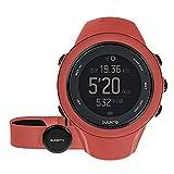 Suunto AMBIT3 SPORT HR, Montre GPS Multisport pour femmes, 15h d'autonomie, Cardiofréquencemètre + Ceinture de poitrine (Taille : M), Étanchéité jusqu'à 50 m, Blanc, SS021469000