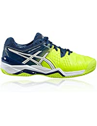 Asics - Gel Resolution 6 Clay, color amarillo, talla UK-7